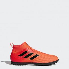A0224 รองเท้าฟุตบอล 100 ปุ่ม สนามหญ้าเทียม ADIDAS ACE 17.3 PRIMEMESH TF  - Solar Red