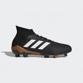 A0024 รองเท้าฟุตบอล รองเท้าสตั๊ด ADIDAS Predator 18.1 FG -Black/White