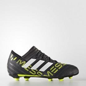 A0236 รองเท้าฟุตบอล รองเท้าสตั๊ดเด็ก ADIDAS NEMEZIZ 17.1 FG Jr. - Core Black/Solar Yellow