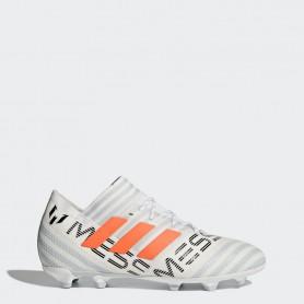 A0237 รองเท้าฟุตบอล รองเท้าสตั๊ดเด็ก ADIDAS NEMEZIZ 17.1 FG Jr. - Running White