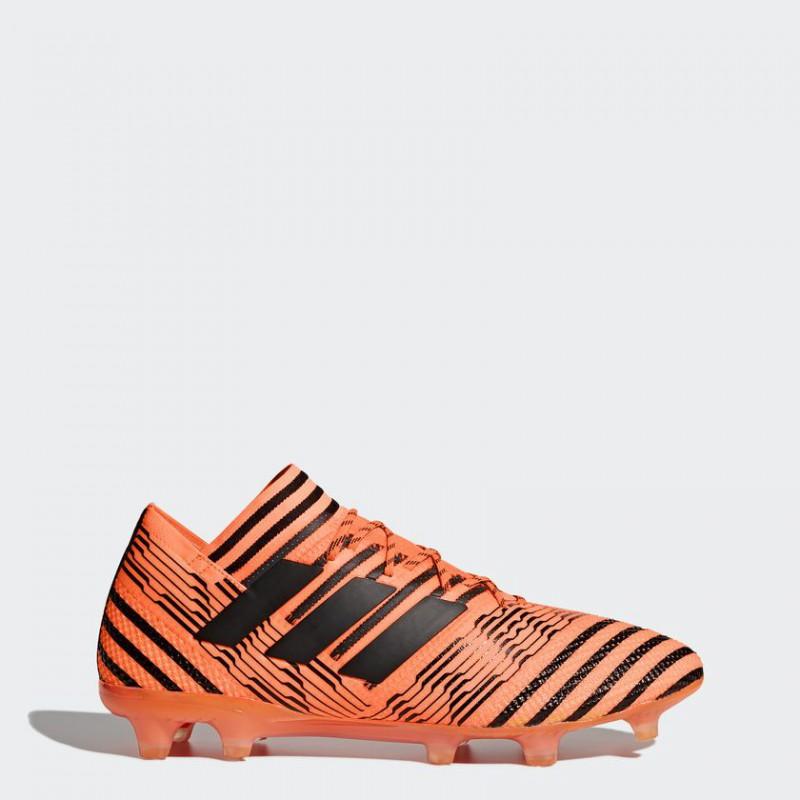 A0241 รองเท้าฟุตบอล รองเท้าสตั๊ด ADIDAS Nemeziz 17.1 FG - Solar Orange
