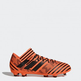 A0245 รองเท้าฟุตบอล รองเท้าสตั๊ด ADIDAS Nemeziz 17.3 FG - Solar Orange
