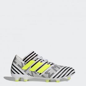 A0250 รองเท้าฟุตบอล รองเท้าสตั๊ด ADIDAS Nemeziz 17.1 FG - White/Solar Yellow