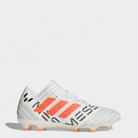 A0251 รองเท้าฟุตบอล รองเท้าสตั๊ด ADIDAS Nemeziz MESSI17.1 FG - White / Solar Orange
