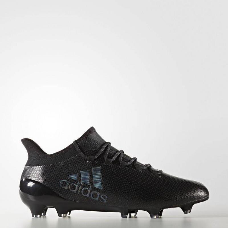 A0254 รองเท้าฟุตบอล รองเท้าสตั๊ด ADIDAS X 17.1 FG -Core Black