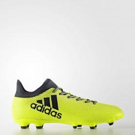 A0260 รองเท้าฟุตบอล รองเท้าสตั๊ด ADIDAS X 17.3 FG -Solar Yellow