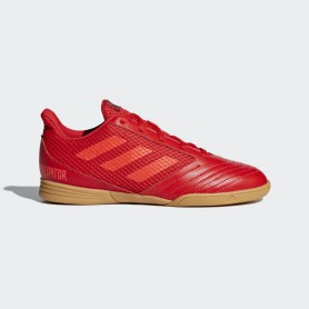 A2163 รองเท้าฟุตซอลเด็ก adidas PREDATOR 19.4 IN Jr.-active red