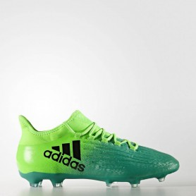 A0264 รองเท้าฟุตบอล รองเท้าสตั๊ด ADIDAS X 16.2 FG -Solar Green