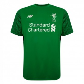 NB0283 เสื้อฟุตบอล New Balance Liverpool Mens Home Goalkeeper Shirt 17/18- ของแท้
