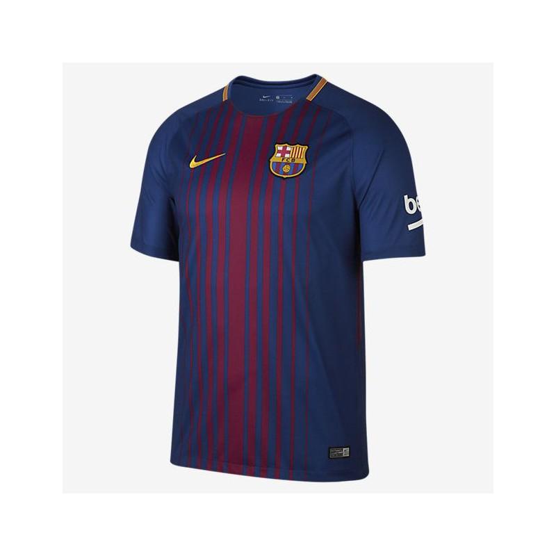 N0289 เสื้อฟุตบอล NIKE barcelona stadium home 2017/18 - ชุดเหย้า ของแท้