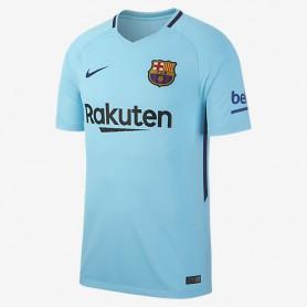 N0290 เสื้อฟุตบอล NIKE barcelona stadium away 2017/18 - ชุดเยือน ของแท้