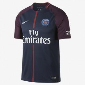 N0292 เสื้อฟุตบอล NIKE Paris saint germain stadium home 2017/18 - ชุดเหย้า ของแท้