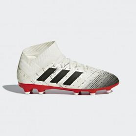 A2331 รองเท้าฟุตบอล รองเท้าสตั๊ดเด็ก ADIDAS Nemeziz 18.3 JR. FG -White/Black/Red