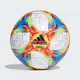 A2354 ลูกฟุตบอล ADIDAS CONEXT19 OFFICIAL MATCH BALL-white /solar yellow/solar red/blue