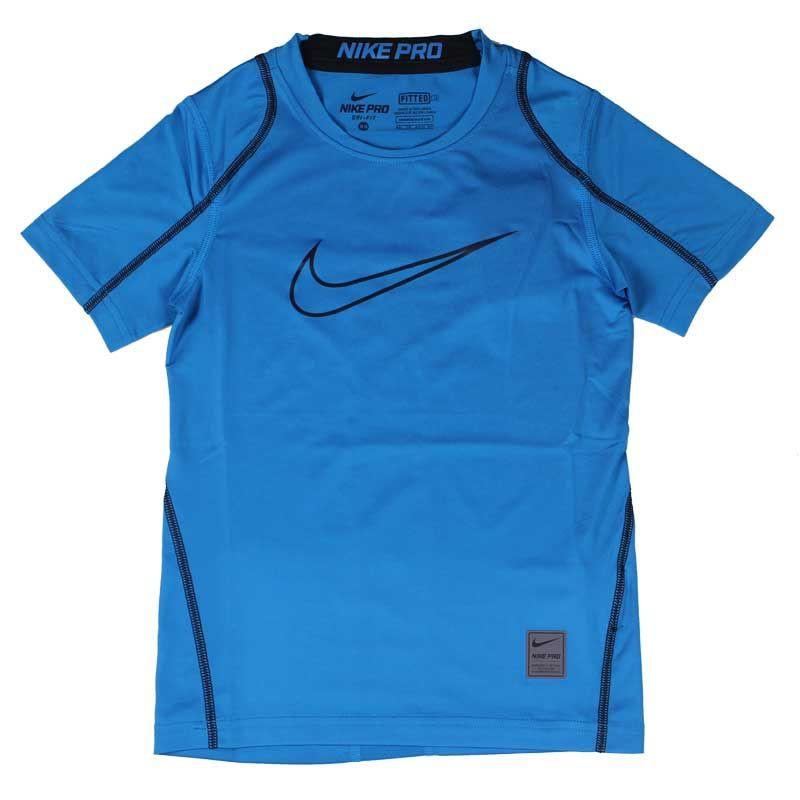 N0309 เสื้อรัดกล้ามเนื้อเด็ก Nike Pro Big Kids' (Boys') Short Sleeve Training Top