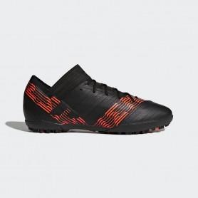A0315 รองเท้าฟุตบอล 100ปุ่ม สนามหญ้าเทียม ADIDAS NEMEZIZ TANGO 17.3 TF Black/Infrared