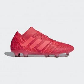 A0312 รองเท้าฟุตบอล รองเท้าสตั๊ด ADIDAS Nemeziz 17.1 FG -Multicolor/Red