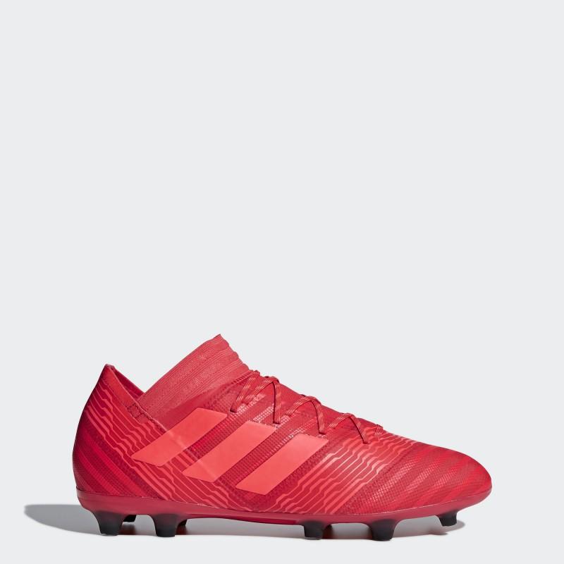 A0313 รองเท้าฟุตบอล รองเท้าสตั๊ด ADIDAS Nemeziz 17.2 FG -Red/Black