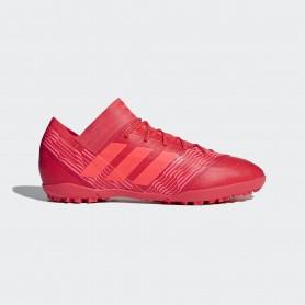 A0316 รองเท้าฟุตบอล 100ปุ่ม สนามหญ้าเทียม ADIDAS NEMEZIZ TANGO 17.3 TF -Multicolor/Red