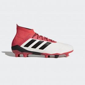 A0319 รองเท้าฟุตบอล รองเท้าสตั๊ด ADIDAS Predator 18.1 FG -White/Black/Multicolor