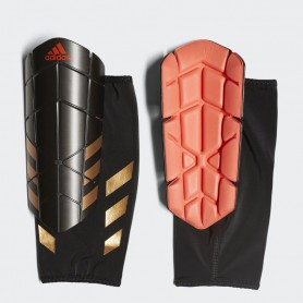A0331 สนับแข้ง Adidas GHOST PRO -Black/Solar Red