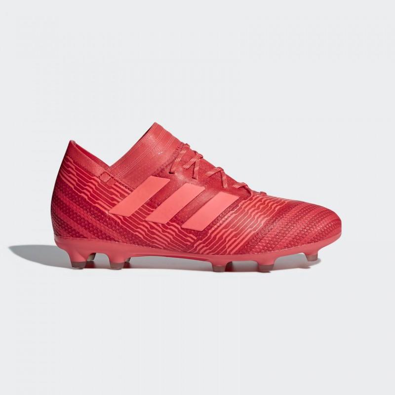 A0317 รองเท้าฟุตบอล รองเท้าสตั๊ดเด็ก ADIDAS NEMEZIZ 17.1 FG Jr. Multicolor/Red ตัวท็อปเด็ก