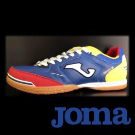J2579 รองเท้าฟุตซอล Joma Top Flex IN-Royal Blue