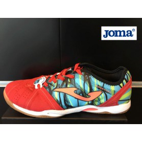 J2588 รองเท้าฟุตซอล JOMA Joma Super Flex-Red
