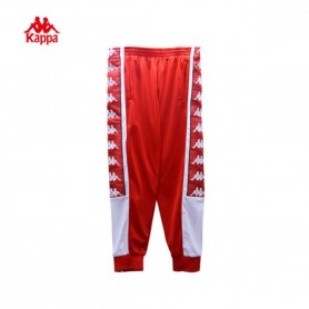 K2608 กางเกง Kappa 222BIG BANDA PANTS-Red