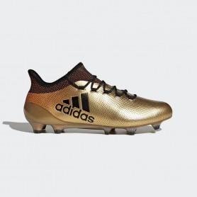 A0037 รองเท้าฟุตบอล รองเท้าสตั๊ด ADIDAS X 17.1 FG -Gold-Metallic