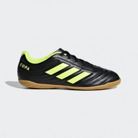 A2647 รองเท้าฟุตซอลเด็ก adidas Copa 19.4 IN Jr.-core black/solar yellow