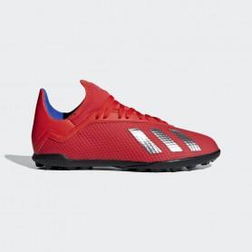 A2648 รองเท้าฟุตบอล100 ปุ่มเด็ก สนามหญ้าเทียม ADIDAS X Tango 18.3 JR. TF-active red/silver met./bold blue