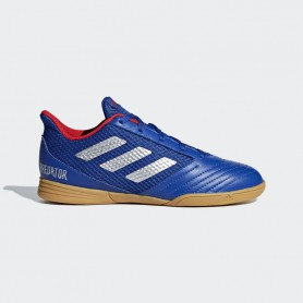 A2650 รองเท้าฟุตซอลเด็ก adidas Predator 19.4 Sala In Jr.-bold blue/silver met./active red