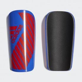 A0877 สนับแข้ง Adidas X Lesto Shin Guards-blue/solar yellow