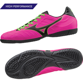 M0353 รองเท้าฟุตซอล MIZUNO REBULA V3 IN -Pink/Black