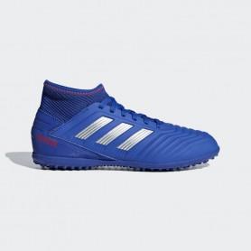 A2778 รองเท้าฟุตบอล100 ปุ่มเด็ก สนามหญ้าเทียม ADIDAS Predator 19.3 JR. TF -Bold Blue/Silver Metallic