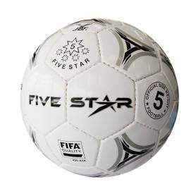 F2738 ลูกฟุตบอลหนังเย็บ ไฟว์สตาร์ No.8500
