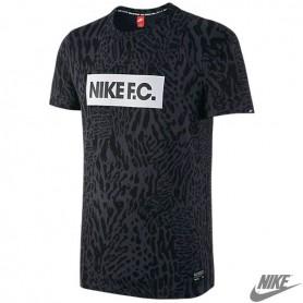 N0364 เสื้อยืดแฟชั่น NIKE F. C. T shirt - anthracite