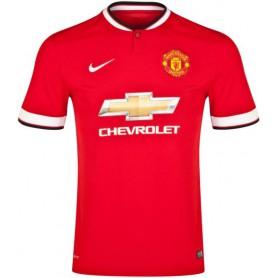 N0368 เสื้อฟุตบอล Nike Manchester United Home Jersey 2014/2015 - ชุดเหย้า ของแท้