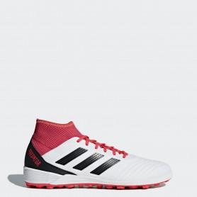 A0322 รองเท้าฟุตบอล 100ปุ่ม สนามหญ้าเทียม ADIDAS Predator 18.3 TF -White/Black/Multicolor