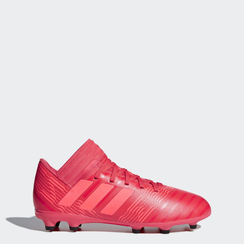 A0371 รองเท้าฟุตบอล รองเท้าสตั๊ดเด็ก ADIDAS Nemeziz 17.3 JR. FG -Multicolor/Red/Black