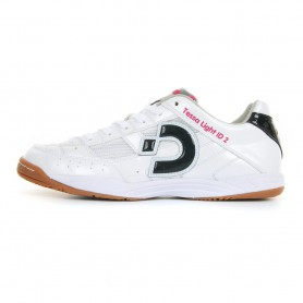 D2877 รองเท้าฟุตซอล Desporte Tessa Light ID2-Pearl White/Black