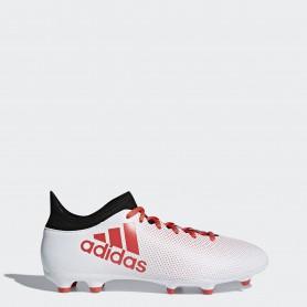 A0372 รองเท้าฟุตบอล รองเท้าสตั๊ดเด็ก ADIDAS X 17.3 JR. FG -White / Black