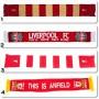 A0404 ผ้าพันคอ Liverpool FC SCARF
