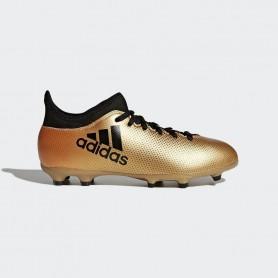 A0041 รองเท้าฟุตบอล รองเท้าสตั๊ดเด็ก ADIDAS X 17.3 JR. FG -Black/white