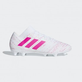 A3164 รองเท้าฟุตบอล รองเท้าสตั๊ด ADIDAS Nemeziz 18.2 FG -White /Shock pink