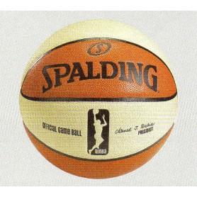 F3235 ลูกบาสเกตบอล Spalding รุ่น WNBA game ball series