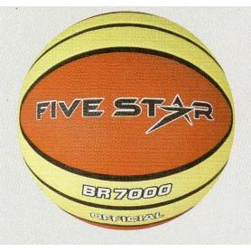 F3239 ลูกบาสเกตบอลยาง Five Star รุ่น BR 7000