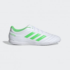 A3428 รองเท้าฟุตซอล ADIDAS Copa 19.4 IN -White /Solar lime
