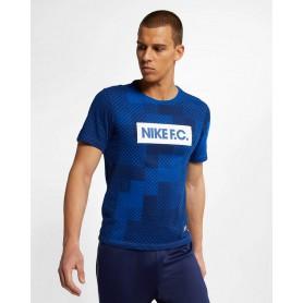 N3445 เสื้อยืดผู้ชาย Nike Dri-FIT F.C.-Indigo Force
